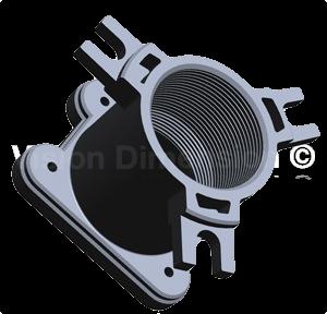 DIY Lensholder for GoPro Mod V1.4