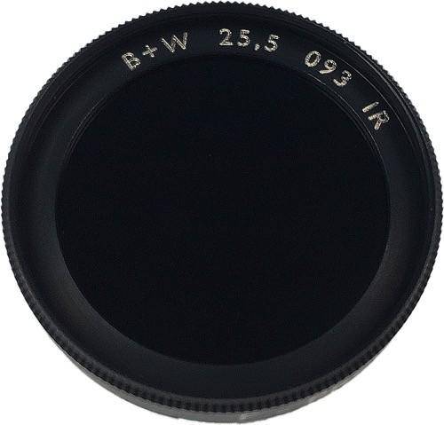 Tageslichtsperrfilter M25,5x0,5 / IR-Sperrfilter 830nm