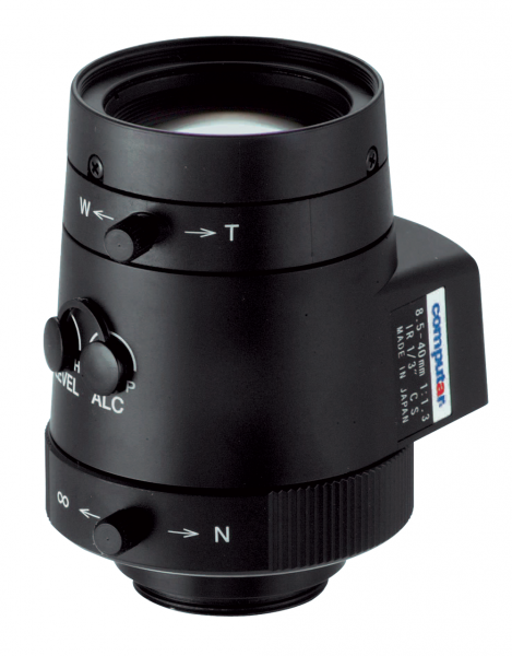 8,5 - 40 mm CS-Mount Computar Objektiv TG5Z8513AFCS-IR