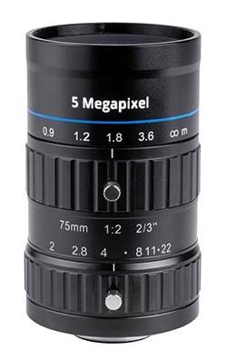 75 mm C-Mount Objektiv Opto Engineering EN5MP7520