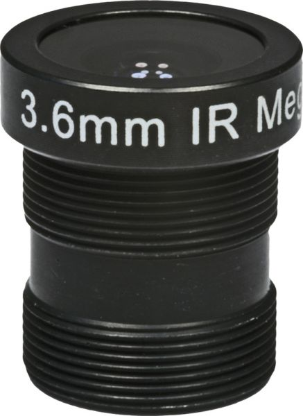 3,6mm Miniobjektiv BL-03618MP13IR