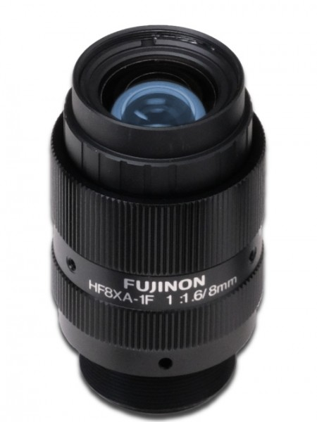 8mm C-Mount Industrieobjektiv Fujinon HF08XA-1F 5MP