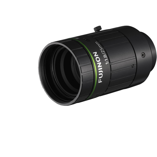 25 mm C-Mount Objektiv Fujinon HF2518-12M - 1.8 / 25mm